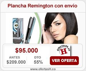 Plancha Remington con envio