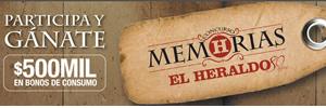 Participa en Memorias El Heraldo